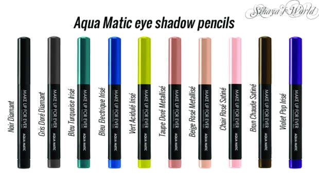 make up for ever summer 2014 aqua matic