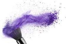 makeup-brush-blue-powder-isolated-white-44500491